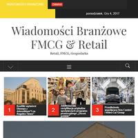 Serwis przedstawia artykuły oraz notki prasowe z rynków retail i fmcg. Najnowsze widomości z Polski oraz ze świata, podsumowania gospodarcze, analizy finasowe firm.