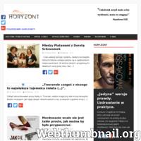 """e-Magazyn """"Horyzont""""–nieformalne pismo internetowe założone 5 września 2015 r.przez dwoje studentów Dziennikarstwa i Komunikacji Społecznej."""