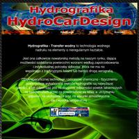 Hydrografika - Transfer wodny jest procesem przeniesienia wzorów na każdy element: metalowy, aluminiowy, plastikowy, drewniany i wiele innych których powierzchnia jest twarda nie porowata a zanurzenie w wodzie nie spowoduje uszkodzenia.<br />Jest to nowa metoda na naszym rynku wykorzystująca zjawisko wyporności wody, dająca możliwość ozdabiania powierzchni płaskich a także o bardzo skomplikowanych kształtach, gdzie właśnie ciśnienie wody powoduje że folia ze wzorem dotrze i pokryje wszystkie zakamarki i załamania danego elementu. ./_thumb/hydrocardesign.eu.png