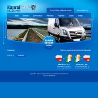 """Firma KAPRAL TRANS powstała w 2004r jako spółka """"córka"""" firmy """"matki"""" Usługi Transportowe Stanisław Kapral. Poprzez usługi na wysokim poziomie, staramy się wypełniać lukę w drobnicowym transporcie drogowym. Z roku na rok powiększamy swoją gamę pojazdów i stajemy się coraz bardziej rozpoznawalni.Oferujemy usługi transportu drogowego, zarówno krajowego jak i międzynarodowego. Specjalizujemy się w ekspresowych przewozach ładunków krajowych i międzynarodowych o masie do 10 ton. Od 2008 roku zaczęliśmy świadczyć również usługi kurierskie na trasie Polska - Irlandia. ./_thumb/kapraltrans.pl.png"""