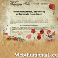 Doświadczony psycholog, psychoterapeuta pracujący w Krakowie i okolicach. Sesje terapeutyczne adresowane do dorosłych oraz osób w wieku późnej adolescencji. Indywidualne spotkania z pacjentami, sesje online. Bogate doświadczenie zawodowe, w tym wykształcenie prowadzącej sesje, jak również liczne staże zagraniczne (USA, Włochy) umożliwiają świetne przygotowanie do pracy z pacjentami różnego typu i dostosowanie formy i metod terapii do poszczególnych pacjentów. Psychoterapia jest procesem złożonym, którym wymaga pracy i zaangażowania dwóch stron.   ./_thumb/katarzynamika.pl.png