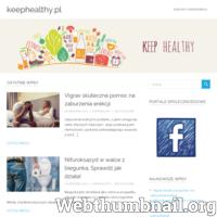 Keephealthy.pl to blog na którym staramy się doradzać w tematyce zdrowia, zachowania dobrej kondycji oraz pielęgnacji ciała. Nasze artykuły są dociekliwe i starają się dostarczać jak najwięcej informacji pomocnej dla czytelnika.