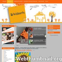 Kidsarts.pl to serwis dla dzieci, rodziców, nauczycieli. Znajdują się tutaj prace plastyczne dzieci, pomysły na kreatywne zabawy plastyczne dla dzieci, konkursy plastyczne dla dzieci. Przedstawiane tu pomysły można wykorzystać zarówno w domu, jak i na zajęciach z plastyki w szkole, przedszkolu. W serwisie znajduje się też galeria prac plastycznych dzieci, aktualne konkursy plastyczne i literackie dla dzieci.