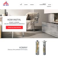 Oferujemy sprzedaż kominów, kominków i szeroki zakres usług kominiarskich ./_thumb/kom-instal.pl.png