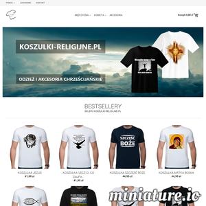 Witamy w sklepie internetowym koszulki-religijne.pl. Znajdziesz u nas koszulki religijne, bluzy religijne i akcesoria o charakterze chrześcijańskim.  ./_thumb/koszulki-religijne.pl.png