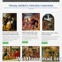 Malarstwo od A do Z. Słynne obrazy, znani malarze i ich dzieła. Galeria malarstwa dawnego i współczesnych artystów. Subiektywny przewodnik