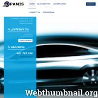 PAMIS - lakiernictwo samochodowe, blacharstwo, ogrodzenia - Gniezno ./_thumb/pamis.com.pl.png