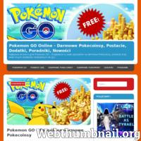 Najlepsza strona o grze Pokemon GO - Znajdziecie tu wiele sposobów na darmowe Pokecoinsy, postacie oraz wiele innych dodatków niezbędnych do gry. ./_thumb/pokemonline.pl.png