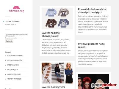 Jeśli poszukujesz modnych niecodziennych ubrań to ta strona jest właśnie dla Ciebie! Zapraszam serdecznie na blog modowy, w całości poświęcony modnym w tym sezonie kreacjom (a szczególnie zimowym) — sprawdź najnowszy wpis dotyczący zimowej garderoby! U nas dowiesz się, jakie ubrania nosimy w zimę 2016! Nie zwlekaj, bądź na czasie - wejdź na mojego bloga odzieżowego - ubrania.org.   ./_thumb/ubrania.org.png