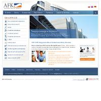 AFK COB Wrocław to firma, która powstała z myślą o wszystkich przedsiębiorcach działających na terenie Polski. Jesteśmy, po to aby pomagać na każdym etapie działania firmy. Biuro rachunkowe oferuje księgowość, kadry i płace, audyty, doradztwo podatkowe, prawne i biznesowe, e-biuro, dotacje unijne, restrukturyzacja przedsiębiorstw, monitoring, płatności/windykacja, rejestracja/przekształcenia firm, szkolenia specjalistyczne, wynajem sal szkoleniowych, usługi i szkolenia BHP