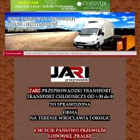JARI PRZEPROWADZKI Wrocław to sprawdzona firma na terenie Wrocławia i okolic chcesz przewieść lodówkę, pralkę? Czy inny sprzęt zadzwoń DO NAS !!! JARI PRZEPROWADZKI jest firmą zajmującą się głownie Przeprowadzkami biur osób prywatnych na terenie Wrocławia i całej Kraju Posiadamy bardzo duże doświadczenie w branży transportowej. Jeżeli szukasz najlepszej firmy, która pomoże Ci się przeprowadzić do nowego mieszkania, domu lub do nowej siedziby Twojej firmy, z chęcią Ci pomożemy! Nie zwlekaj, nie czekaj, po prostu zadzwoń do nas, zapytaj o darmową wycenę i zaczniemy działać! Postaw na sprawdzoną firmę.  Zapoznaj się z naszą atrakcyjną ofertą, zanim skorzystasz z usług innych firm!