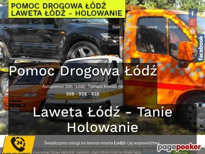 Pomoc Drogowa Łódź - Laweta - Tanie Holowanie. Całodobowa Autopomoc. Telefon 508-508-825. Tanie Holowanie 7 dni w tygodniu. Auto zastępcze z OC sprawcy. ./_thumb/www.auto-holowanie.net.pl.png