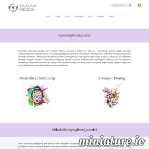 Kosmetyki naturalne polskiej marki Calluna Medica - kremy i maseczki - wykonane są wyłącznie z naturalnych składników najwyższej jakości. Postaw na naturalną pielęgnację! ./_thumb/www.callunamedica.com.png