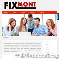Firma FIXMONT jest dystrybutorem wysokiej jakości zamocowań budowlanych, systemów wierceń i cięcia. Od momentu rozpoczęcia działalności stara się dostarczyć najwyższej jakości produkty w przystępnej cenie. Standardowa oferta obejmuje najpopularniejsze na rynku systemy zamocowań, cięcia i wiercenia, ale naszym celem jest całościowe zaspokojenie potrzeb zakupowych naszych klientów w tych dziedzinach. Pomimo, że firma istnieje od niedawna, to długoletnie doświadczenie właścicieli owocuje fachowym i rzetelnym doradztwem. Do naszych głównych atutów należą: wysoka jakość, atrakcyjne ceny oferowanych produktów, fachowe doradztwo, niskie minimum logistyczne. Serdecznie zapraszamy do współpracy.
