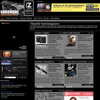Serwis dobrych newsów, recenzji i testów sprzętu elektronicznego, komputerowego, gier. ./_thumb/www.hardware.info.pl.png