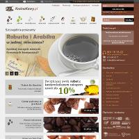 Swoje produkty proponuje sklep online krainakawy.pl. Swoją ofertę kierujemy zwłaszcza do tych, którzy chcą odkryć oryginalny smak kawy i herbaty. Dla osób mających problemy zdrowotne polecamy w szczególności kawę bezkofeinową Arabica Kolumbia Decaf. Posiada ona łagodny, kwaskowaty smak. Dzięki temu, że usunięto z niej kofeinę, można ją pić również wieczorem przed snem. Istnieje możliwość zamówienia indywidualnego stopnia palenia kawy. ./_thumb/www.krainakawy.pl.png
