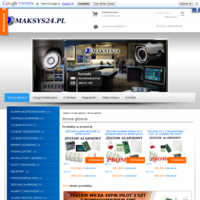 Sklep Maksys24.pl zajmuję się sprzedażą oraz montażem elektronicznych systemów zabezpieczeń, które w obecnych czasach są niezbędnym wyposażeniem każdego domu, sklepu czy biura.  W ofercie znajdują się komplety zestawów systemów jak i również pojedyncze elementy każdego systemu alarmowego takie jak:  - centrale alarmowe - czujniki alarmowe - klawiatury - sygnalizatory - akumulatory  - powiadomienia sms  Jesteśmy dystrybutorami takich firm jak SATEL, Dsc, Risco i wiele innych producentów.  Dla każdego klienta odbieramy indywidualnie kompleksowy system zabezpieczeń tak aby każdy mógł czuć się bezpiecznie .  Serdecznie zapraszamy www.maksys24.pl