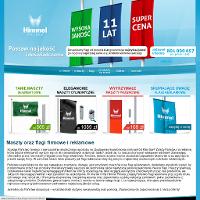 Artykuły znanej spółki Himmel Polska przykładowo flagi firmowe albo maszty flagowe są wytworzone z surowców wysokiej jakości. Maszty-flagi.com - tu są wszelkie niezbędne wiadomości. W ofercie przedsiębiorstwa są świetne flagi, producent oferuje ich różnorodne rozmiary, termin realizacji danej usługi jest bardzo niewielki. Firma posiada kolosalne doświadczenie, na polskim rynku funkcjonuje już długi czas. Pracownicy firmy to osoby odznaczające się sporą kreatywnością, z tej przyczyny nabywca nie potrzebuje zamartwiać się projektem, firma wykona go za niego.