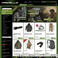 Sklep internetowy z militariami, najtańsze wiatrówki i akcesoria - paintball, wiatrówki, broń, samoobrona, odzież, rękawice, plecaki militarne. Helikon, Mactronic sklep Warszawa.