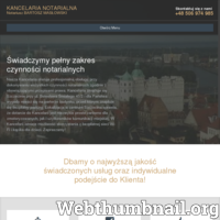 Notariusz Bartosz Masłowski - kancelaria notarialna w centrum Szczecina. Kompleksowa obsługa osób fizycznych i prawnych w zakresie czynności notarialnych. ./_thumb/www.notariusz-maslowski.pl.png