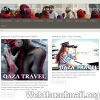 Wycieczki objazdowe samolotem i autokarowe. Zwiedzaj z nami najpiękniejsze zabytki świata. Kupuj wycieczki objazdowe przez internet. ./_thumb/www.oazatravel.pl.png