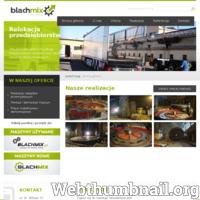 Firma Blachmix sprzedaje, naprawia i przenosi maszyny przemysłowe. Usługi relokacji firmy są bardzo rozwinięte. Firma potrafi wykonać relokacje w obrębie jednego zakładu przemysłowego, a także przenieść cały zakład w nowe miejsce. Blachmix wykonuje także montaż maszyn w nowych zakładach, a także niestandardowe relokacje na terenie całego świata.  ./_thumb/www.relokacje.blachmix.pl.png