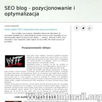 Blog o pozycjonowaniu i optymalizacji stron internetowych metodą White Hat SEO. Poradnik dla początkujących SEO-maniaków od podstaw, krok po kroku. Blog o SEO także dla początkujących,Ecommerce. ./_thumb/www.seozmagania.blogspot.com.png
