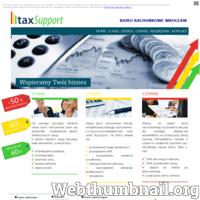 Tax Support biuro rachunkowe Wrocław oferuje kompleksową obsługę księgową dla podmiotów gospodarczych oraz osób fizycznych w zakresie rachunkowości, podatków i kadr.
