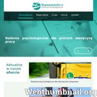 Serdecznie zapraszamy na stronę internetową centrum psychologicznego Transmedica znajdującego się w Limanowej. Oferujemy najwyższej jakości usługi z zakresu psychologii. W naszej ofercie znajdą Państwo: badania psychologiczne dla kierowców, badania psychologiczne dla medycyny pracy, psychoterapia oraz diagnozę psychologiczna. Chcesz dowiedzieć się więcej? Zajrzyj na naszą stronę!