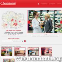 Wrocławska sieć aptek ARS MEDICA W swoje ofercie posiada apteki czynne całą dobę jak również czynne  w dogodnych godzinach od pn do piątku. Nasze Apteki posiadają wysoko wyspecjalizowaną kadrę pracowniczną, a nasi wykwalifikowani farmaceuci zawsze służą pomocą i dokładną informacją dotyczącą wszystkich leków. Po szczegółowe informacje zapraszamy na naszą stronę internetową- www.twojeapteki.com ./_thumb/www.twojeapteki.com.png