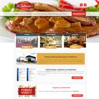"""Polskie potrawy """"u Jędrusia"""" to producent dań gotowych od 1980 roku. Posiada zakłady produkcyjne oraz sklepy firmowe i restaurację. Oferuje również catering. ./_thumb/www.u-jedrusia.pl.png"""