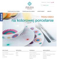 Polska porcelana i porcelana dla dzieci to czołowe wizytówki wyjątkowej marki Zulana. W asortymencie znajdą Państwo naczynia najwyższej jakości ./_thumb/www.zulana.pl.png