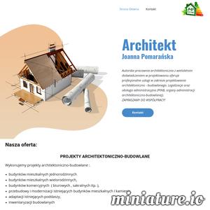 Autorska pracownia architektoniczna z wieloletnim doświadczeniem w projektowaniu oferuje profesjonalne usługi w zakresie projektowania architektoniczno - budowlanego. Legalizacje oraz obsługa administracyjna (PINB, organy administracji architektoniczno-budowlanej).