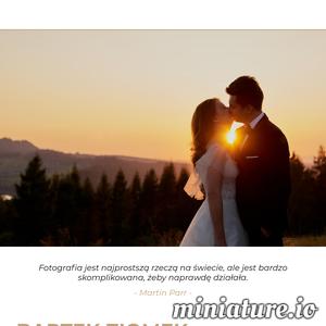 Jeden z najlepszych fotografów ślubnych w Rzeszowie i okolicach. Profesjonalna obsługa, świetna atmosfera oraz łatwe nawiązywanie kontaktów – to wszystko może zapewnić Bartek Ziomek.  Uchwyci on to co dla Ciebie jest najważniejsze – zatrzymajcie razem najlepsze chwile.