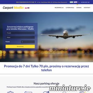 Meta tagi - opis strony Parking przy lotnisku Warszawa- Modlin