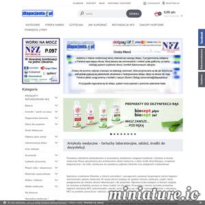 Dlapacjenta to apteka internetowa, która specjalizuje się w sprzedaży produktów dla branży medycznych oraz zielarskich. Sklep oferuje wiele przydatnych produktów np. defibrylatory.