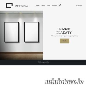 W naszym internetowym sklepie znajdziesz duży zasób plakatów retro, grafik, zdjęć i nie tylko, które wypełnią Twoje puste ściany, nadając im niepowtarzalny, spersonalizowany i indywidualny ton. ./_thumb1/emptywall.pl.png