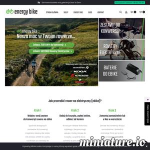 Energy Bike to sprawdzony sklep internetowy, w którym znajdziesz rowery elektryczne bądź zestawy do konwersji. To dobry wybór, jeśli szukasz rozwiązań w naprawdę atrakcyjnych cenach.   Zamówisz u nich gotowe modele, takie jak rower Cube, Le Grand Elille, czy Level Boost. Oczywiście, to zaledwie parę przykładów. Producentów, z którymi współpracuje Energy Bike jest zdecydowanie więcej.  Przekonaj się samemu, że warto zamówić e bike ze sklepu Energy Bike. Odwiedź ich stronę, by wybrać rozwiązanie dopasowane do siebie.  Zapraszamy!  ./_thumb1/energy-bike.pl.png