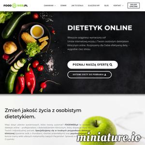 FOODWEB.pl to dietetycy kliniczni, którzy ułożą dla Ciebie zalecenia, jadłospis, ocenią Twoje badania i pomogą schudnąć. Nie ma takiego przypadku, z którym nie daliśmy rady. Oferujemy także copywriting SEO dla firm i współpracę m.in. z trenerami i fizjoterapeutami w opiece nad ich podopiecznymi.