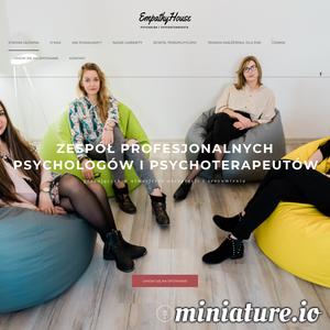 EmpathyHouse to centrum pomocy psychologicznej i psychoterapii, gdzie zespół wykwalifikowanych specjalistów udziela skutecznej pomocy w atmosferze akceptacji i zrozumienia.