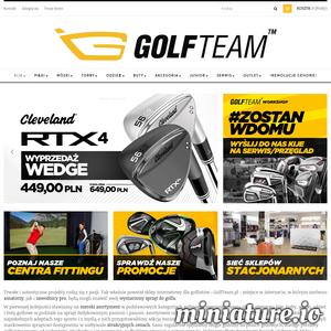 Golfteam to sklep internetowy oferujący produkty do gry w golfa. W asortymencie znajdziesz najważniejsze elementy wyposażenia tj. kije golfowe, torby, piłeczki golfowe i wiele innych. Oferta skierowana jest zarówno dla profesjonalnych graczy, dla amatorów czy juniorów. Oprócz niezbędnych narzędzi do gry, oferujemy również akcesoria oraz odzież do gry w golfa. Wśród produktów znajdziesz propozycje zarówno dla kobiet jak i mężczyzn. Niezależnie od stopnia zaawansowania i płci wybierzesz coś dla siebie!