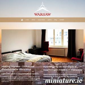 HostingWarsaw to innowacyjny projekt pragnący zaoferować wam możliwie najbardziej satysfakcjonujacy wynajem w Warszawie, wynajem mieszkań i apartamentów o nietuzinkowym stylu. oferujemy wynajem nieruchomości warszawa, wynajmy krótkoterminowe i długoterminowe. przyjmujemy gości na airbnb w warszawie, i otaczamy ich komfortem i gościnnością, pomagamy im znaleść w warszawie to czego szukają, bo znamyy to miasto jak własną kieszeń. HostingWarsaw to ciś więcej niż tylko stylowe komfortowe i nowoczesne mieszkania i apartamenty do wynajęcia w warszawie. to unikatowe doświadczenie Warszawy.we offer unique apartment rental experience in warsaw. ./_thumb1/hostingwarsaw.com.png