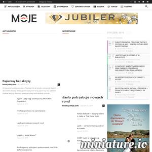 Jasielski portal informacyjny. Poznaj Jasło z innej strony! Aktualne wydarzenia w Jaśle, ankiety, wywiady ze znanymi jaślanami, ogłoszenia, zdrowie i uroda. ./_thumb1/mojejaslo.pl.png