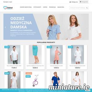 Sklep internetowy mający w ofercie odzież medyczną dla lekarzy, pielęgniarek i weterynarzy. Oferujemy odzież ochronna dla służby medycznej i kosmetycznej, taka jak bluzy, sukienki, spodnie, fartuchy i wiele innych.