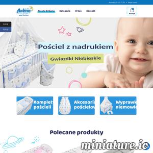 W naszym asortymencie znajdziecie Państwo pościel oraz akcesoria pościelowe dla dzieci i niemowląt
