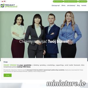 PROJEKT SPRZEDAŻ kieruje się polityką uczciwości oraz wsparcia sprzedaży polskich produktów na rynkach zagranicznych. W nowatorski, nowoczesny i skuteczny sposób otworzymy Ci drzwi do polskich i zagranicznych rynków usług i produktów. Zwiększymy rozpoznawalność Twojej marki, dotrzemy do Twoich docelowych klientów i zadbamy o wzrost Twojej sprzedaży.
