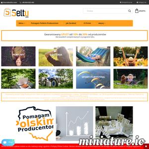 Firma SELTU.COM powstała z myślą o Polskich Producentach i Polskich Klientach. Wspierajmy Polskich Producentów. Wspierajmy i Zmieniajmy Polskę.  Otwieramy przed Tobą Producencie i Kliencie ogromne możliwości błyskotliwego rozwoju i godziwych zarobków – w 100 % polskim przedsięwzięciu.  Zależy nam na Twoim sukcesie będziemy starali się wprowadzać kolejne rozwiązania pozwalające na lepszy rozwój Twojego biznesu.  Producencie jeśli chcesz podzielić się zyskiem z dystrybutorami, klientami i dealerami jesteś w odpowiednim miejscu i odpowiednim czasie.  Kliencie, Partnerze, Dealerze - Razem możemy więcej.