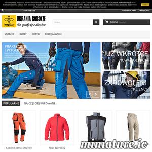 Sklep internetowy Busy Bee Workwear z odzieżą ochronną i roboczą zaprasza do odwiedzin i zakupu. Odzież robocza to nie tylko walory ochronne, ale także identyfikacja firmy. Jednolity wygląd pracowników, w pracy w zakładzie, w firmie, podkreśla profesjonalny charakter przedsiębiorstwa. Z naszymi ubraniami klienci będą zachwyceni wyglądem pracowników, jednolity wygląd design podkreśli kompetencje oraz wzmocni poczucie wspólnoty wśród załogi. Oprócz sprzedaży detalicznej Busy Bee prowadzi także hurtowa, Pełen asortyment, w tym spodnie, bluzy, kurtki, fartuchy.