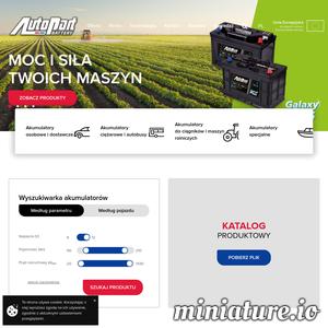 Autopart jest wiodącą polską marką, która specjalizuje się w produkcji oraz sprzedaży akumulatorów do różnego rodzaju pojazdów. Jest to firma, która tworzy swoje akumulatory do samochodów osobowych, ciężarowych, dostawczych, ciągników oraz żaglówek. Działają oni w Polsce oraz za granicą.
