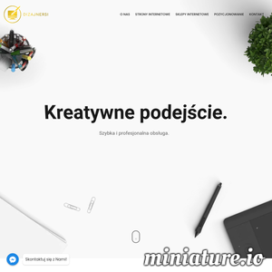 Potrzebujesz strony internetowej, sklepu lub pozycjonowania? Napisz do nas! ./_thumb1/www.dizajnersi.pl.png